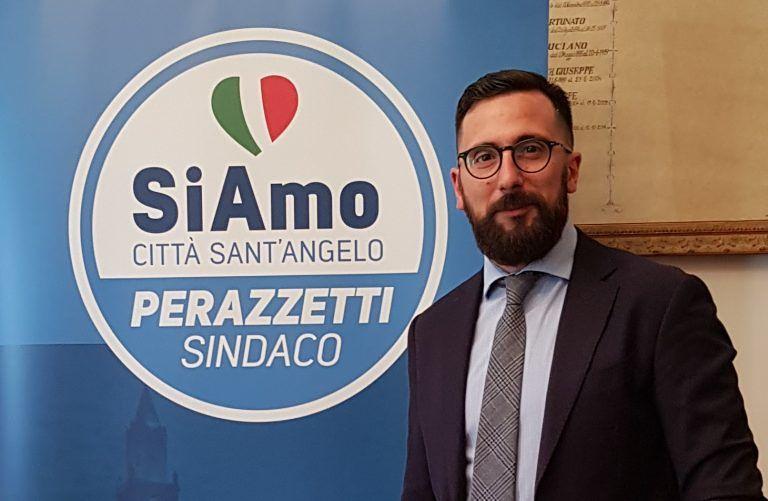 Elezioni Città Sant'Angelo: il centrodestra candida sindaco Perazzetti