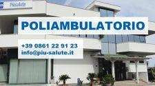 POLIAMBULATORIO Piùsalute 40 Specialisti Diagnosi tempestiveTerapie mirate ed Assistenza domiciliare Alba Adriatica (TE)