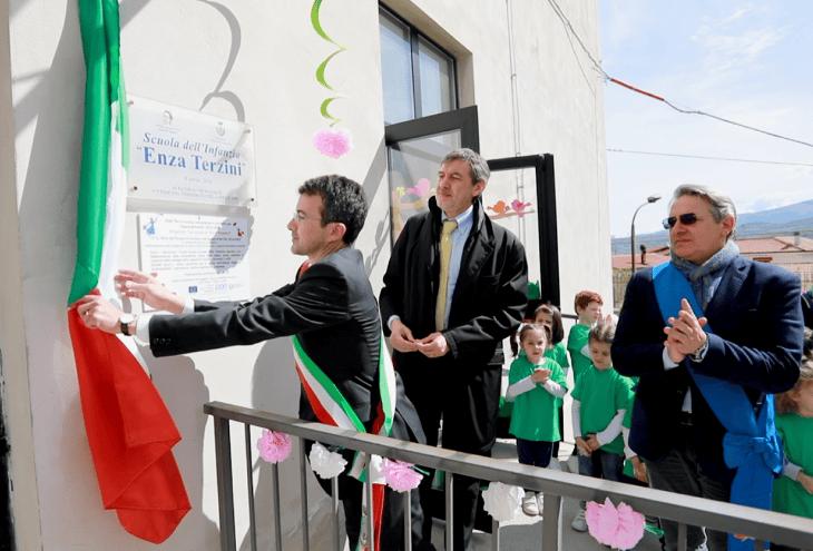 Tocco da Casauria: l'asilo intitolato a Enza Terzini nel decennale del terremoto
