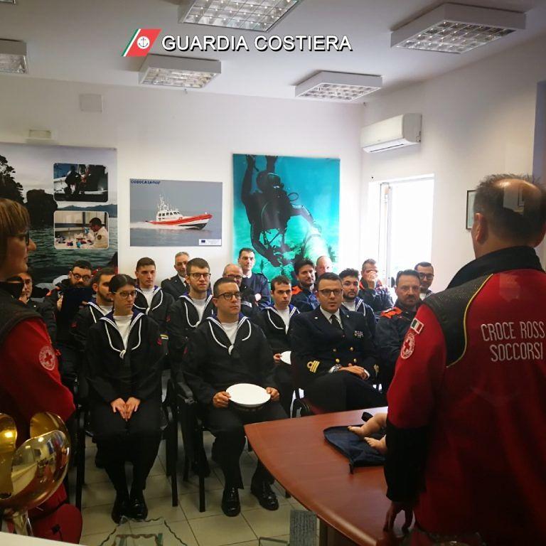 Giulianova, formazione per il personale della guardia costiera in vista dell'estate