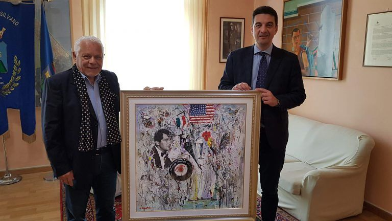Montesilvano, Il sogno americano di Dean Martin esposto in municipio