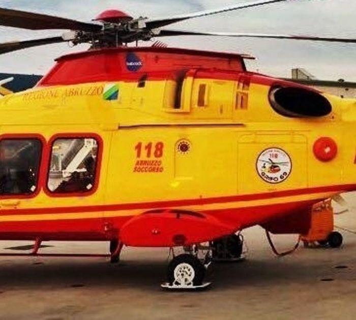 elicottero 118 abruzzo