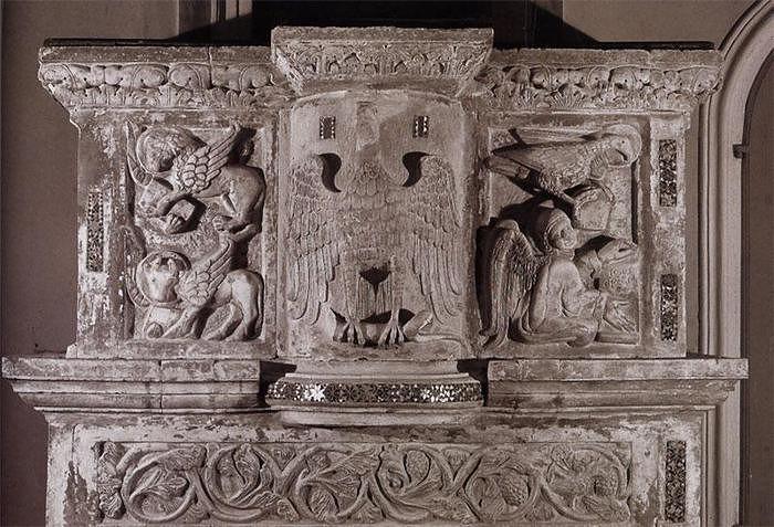 Capistrello, restauro dell'ambone nella chiesa di San Nicola