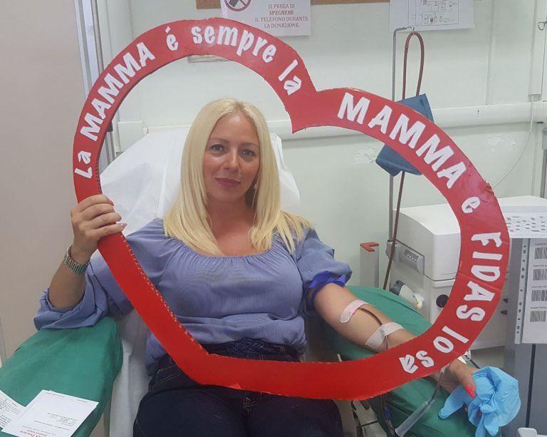 Pescara, Fidas: un regalo a tutte le mamme che donano il sangue