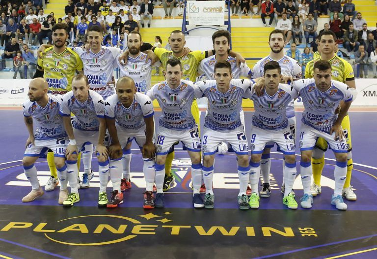 Futsal, finale scudetto: Acqua e Sapone apre la serie battendo Pesaro