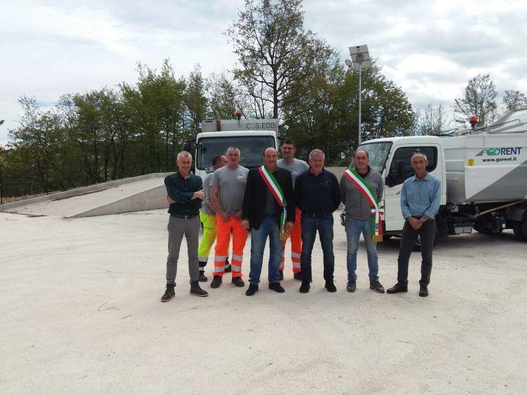 Ecco la nuova stazione ecologica per Rocca Santa Maria e Valle Castellana