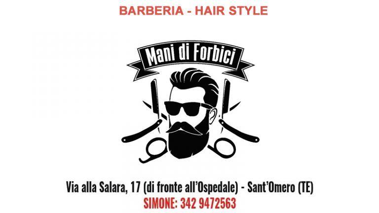 """Tutto un nuovo Stile da """"MANI DI FORBICI"""" HAIR STYLE only for man e BARBERIA a S.Omero (TE)"""