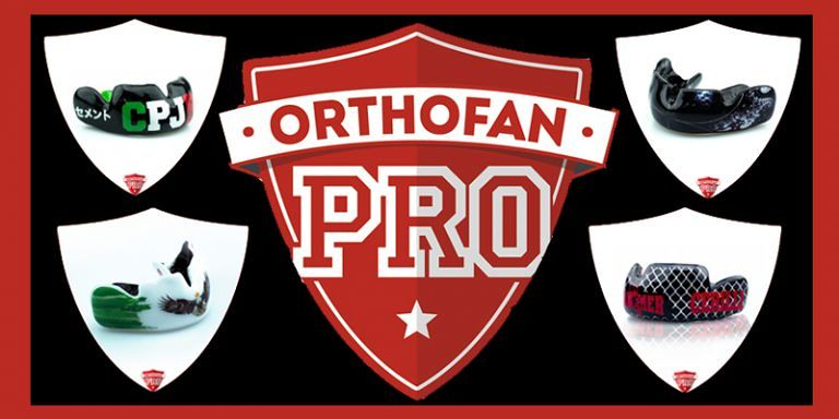 OrthofanPro Scegli la linea più adatta al tuo sport e personalizza la grafica del tuo Paradenti Professionale