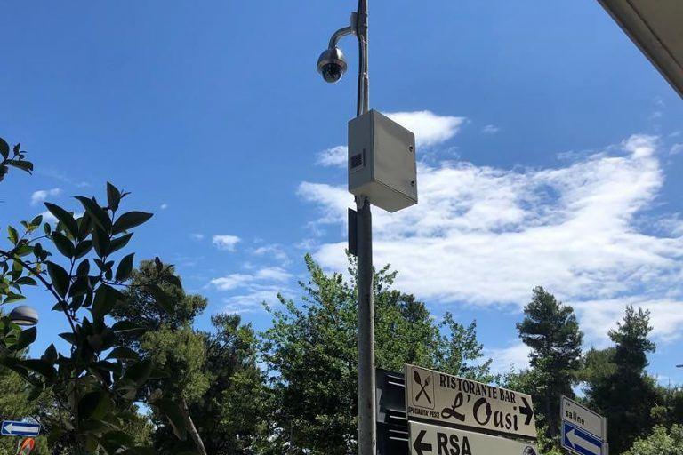 Montesilvano, 28 telecamere per la sicurezza di riviera e pineta