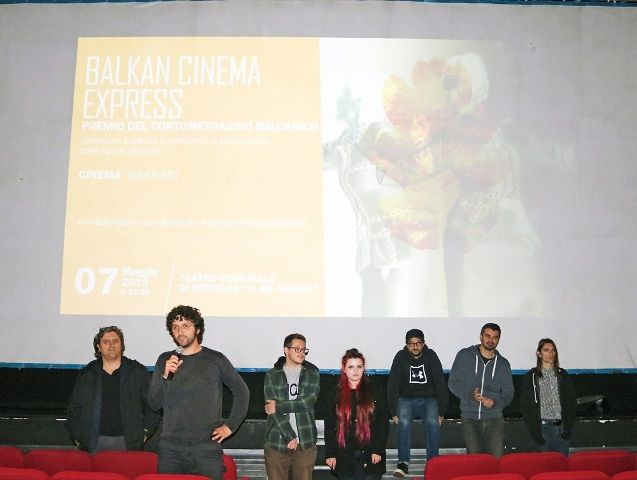 Artinvita: a Orsogna 100 studenti premiano i cortometraggi del Balkan Cinema Express