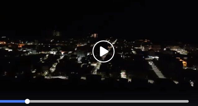 Montesilvano si spegne per il black-out: IL VIDEO