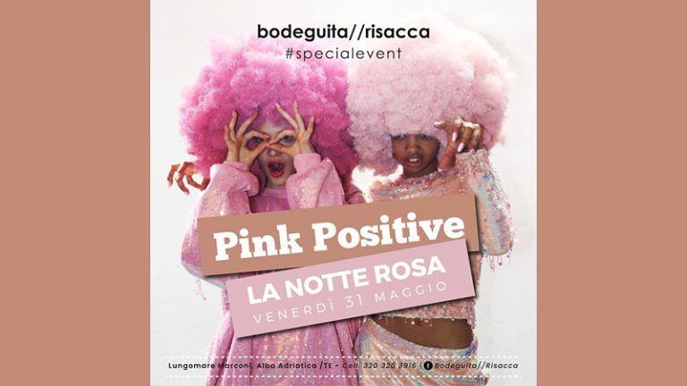 Venerdì 31 maggio BODEGUITA // RISACCA II Edizione NOTTE ROSA Ingresso Gratuito Lungomare Marconi Alba Adriatica (TE)