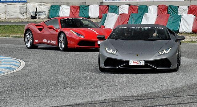 Guida Ferrari e Lamborghini al Circuito Internazionale d'Abruzzo ad Ortona
