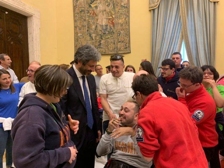 I ragazzi di Rurabilandia alla Camera dei Deputati con l'onorevole Corneli
