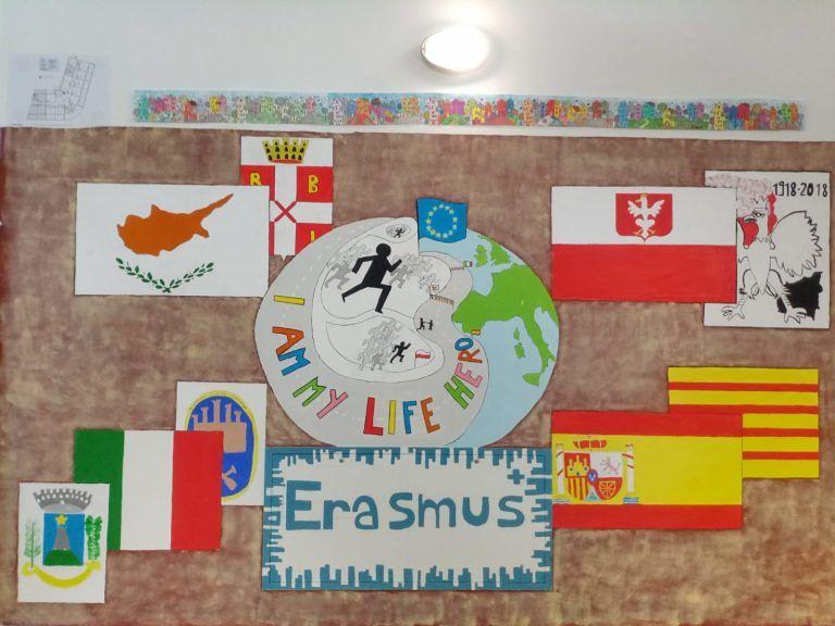Erasmus+ 'porta' giovanissimi da Cipro, Polonia e Spagna all'IC Civitella-Torricella FOTO