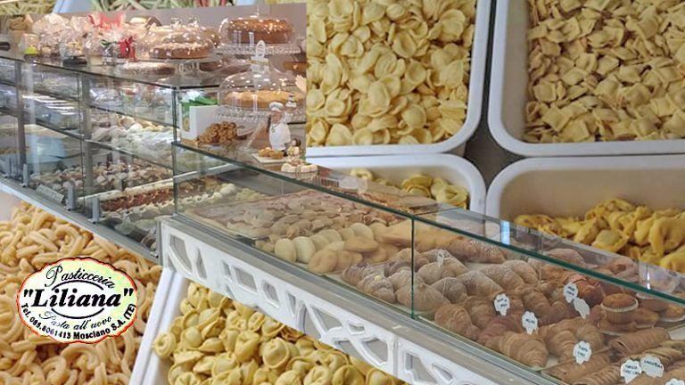 PASTA ALL'UOVOPASTICCERIALiliana Caffetteria  Dallo snack alla Tavola Mosciano Sant'Angelo