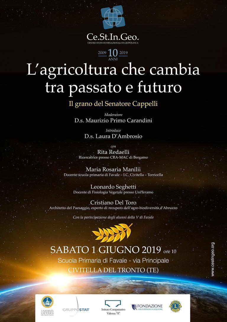 'L'agricoltura che cambia tra passato e futuro': il convegno nella scuola di Favale