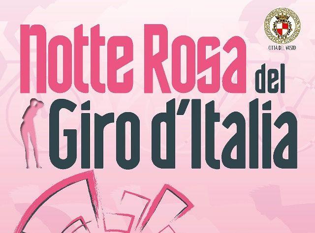Vasto Marina, alla Rotonda la 'Notte rosa del Giro d'Italia'