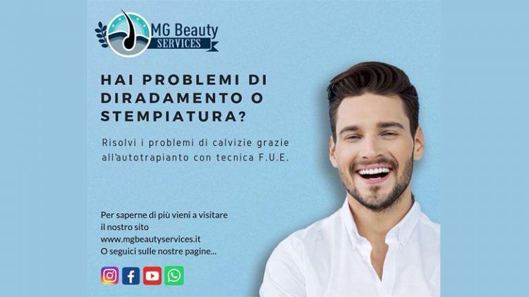 Agenzia MG BEAUTY SERVICE Trapianto di Capelli Giulianova (TE) Nelle mani delle migliori equipe al mondo
