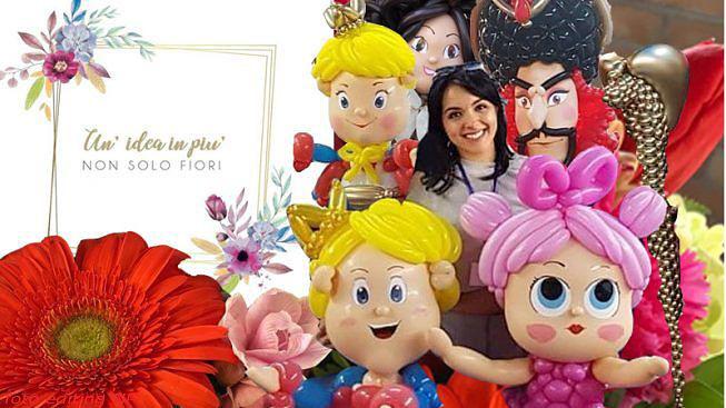 UN' IDEA IN PIU' non solo fiori Surama Di Pasquale Balloon Artist In costante aggiornamento per esclusive idee di personalizzazione