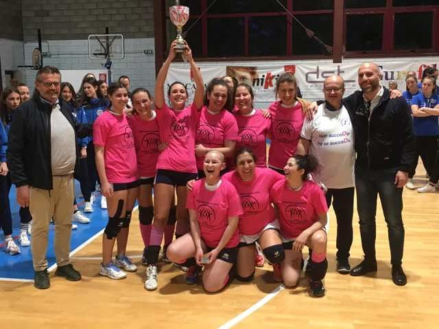 Pallavolo Castelfrentano promossa in Serie D