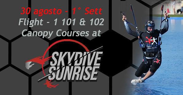 Sei appassionato/a di Paracadutismo sportivo? Inizia ad organizzarti per un culmine d'estate emozionantissimo!