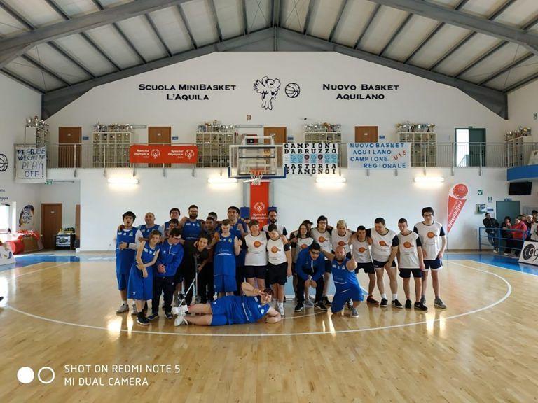 Finali nazionali Special Olympics di basket: sul podio due squadre di Roseto