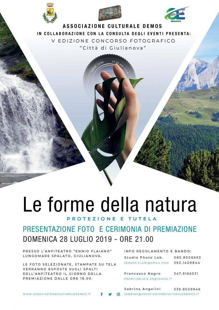 Giulianova, concorso fotografico sulle 'forme della Natura'