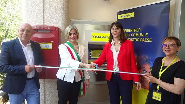 Villa Lempa: ecco lo sportello ATM Postamat FOTO