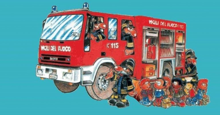 Nereto, piccolo pompiere per un giorno: domenica di divertimento in piazza Cavour