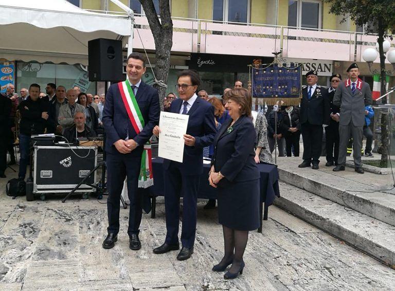 Pescara, premiato il presidente della Lilt