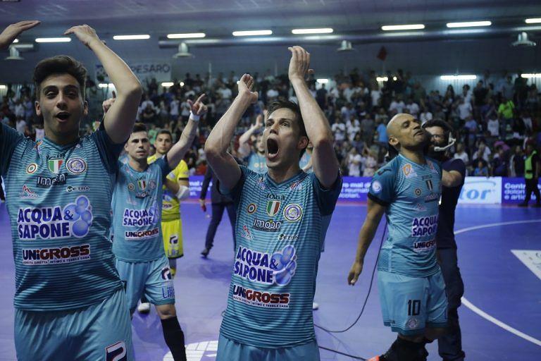 Futsal, Acqua e Sapone vince a Pescara: ora finalissima scudetto a Montesilvano
