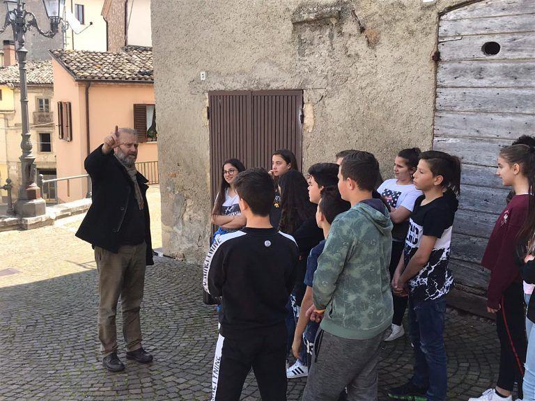 Tossicia, Gianfranco Pannone ospite degli studenti nell'ambito del progetto Paese Dentro