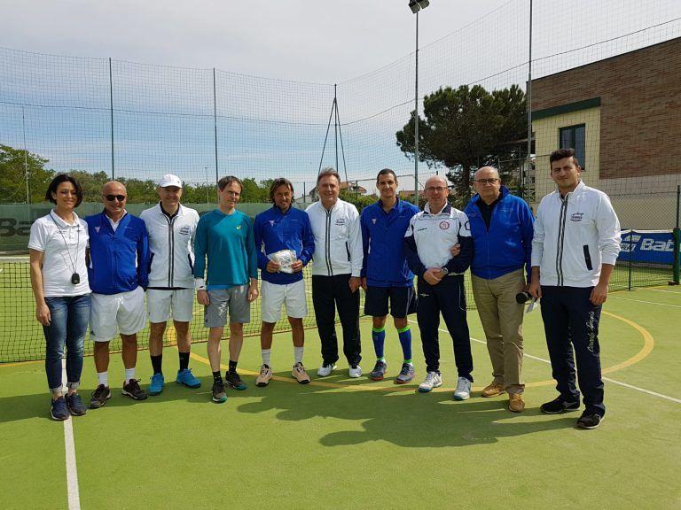 Silvi, Campionato Nazionale over 45 maschile di tennis: la spunta il Palermo