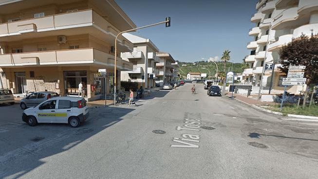 Alba Adriatica, bimba investita in via Toscana: solo lievi contusioni