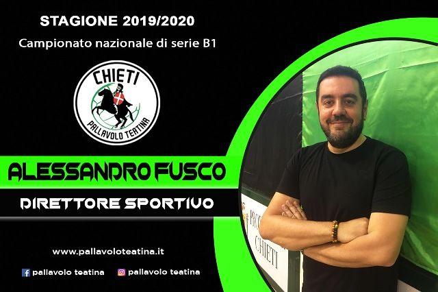 Pallavolo Teatina, la società si rafforza… e Alessandro Fusco torna a casa