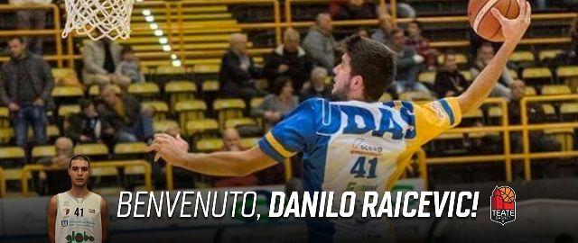 La Teate Basket ingaggia l'under Danilo Raicevic