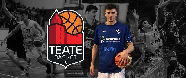 La Teate Basket piazza il primo colpo sul mercato: arriva Massimiliano Sanna