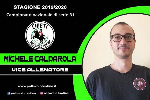 Pallavolo Teatina, Giorgio Nibbio ha il suo vice: Michele Caldarola