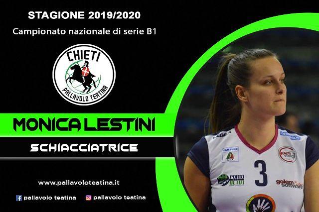 La Teatina batte il primo colpo: Monica Lestini