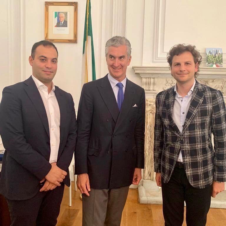 Made in Italy: Zennaro e Berardini incontrano il console italiano a New York