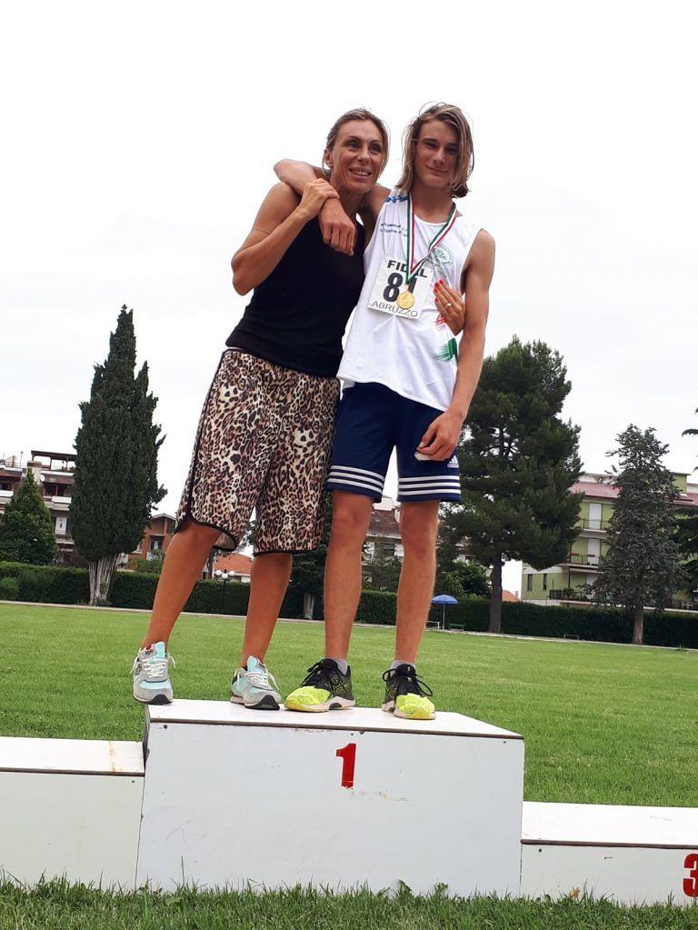 Atletica, impresa del giuliese Federico Capriotti ai campionati regionali di prove multiple