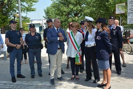 Alba Adriatica, dal 1 luglio parte il posto di polizia. Sarà attivo H24. Più uomini sulla costa