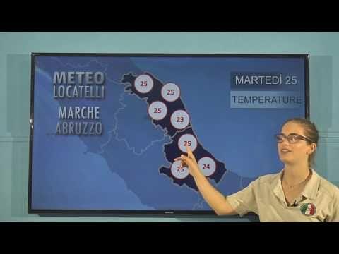 Previsioni del tempo di martedì 25 giugno VIDEO