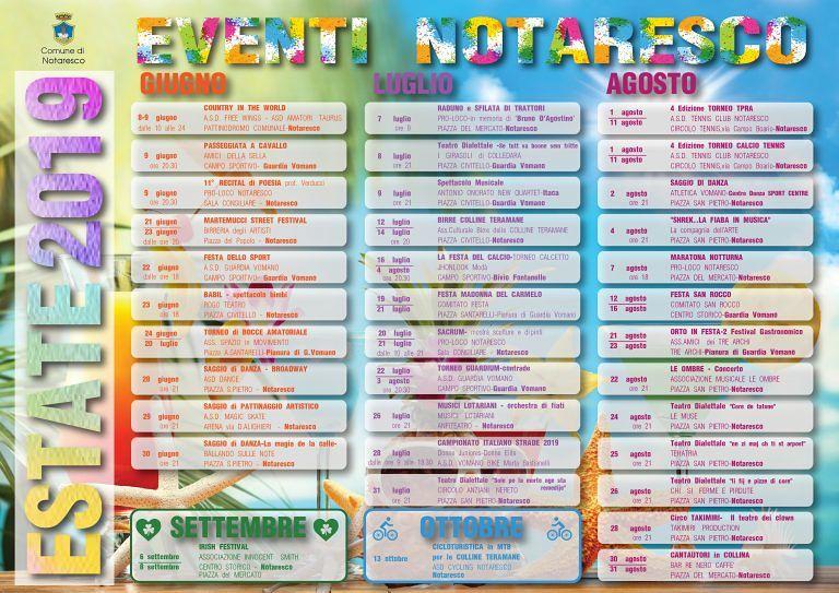 Notaresco, la consigliera Savini presenta il calendario delle manifestazioni estive