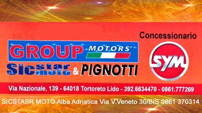 SICSTAR MOTO – Group Motors Tutto il mondo dei motociclisti e scooteristi Professionisti Amatori Utilizzatori