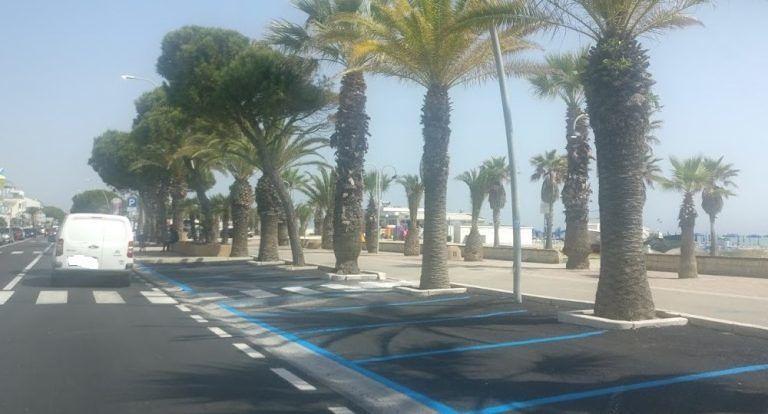 Tortoreto, strisce blu: parcheggio gratis per le auto elettriche