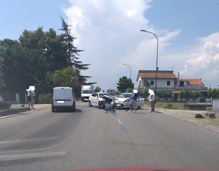 Incidente sulla 259 tra Garrufo e Paolantonio