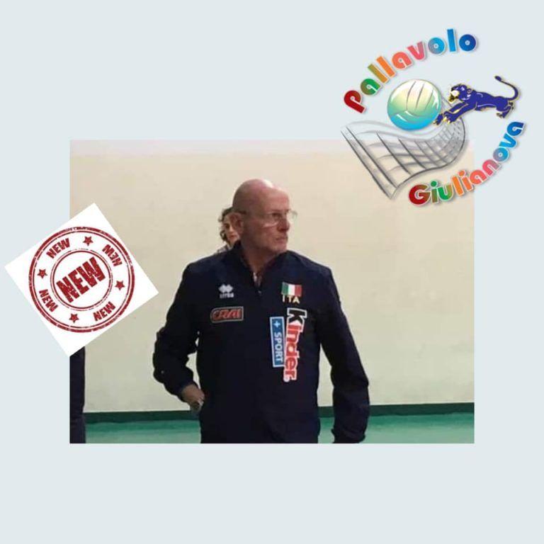 Pallavolo, Giulianova annuncia il tecnico Chiovini