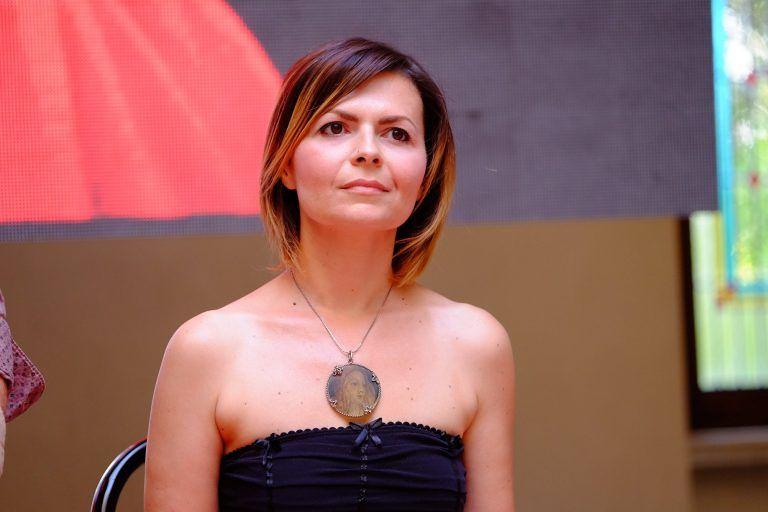Alessandra Angelucci presenta l'ultimo libro nella 'sua' Mosciano